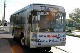 Autobuses Ruta del Sol Cancun - Playa del Carmen